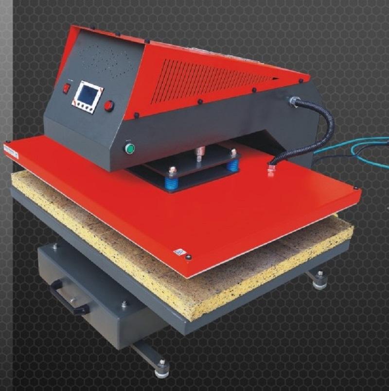 氣壓式熱轉印機桌面型適合小型加工使用轉印在各種布料成衣上, 燙鑽燙金設備熱昇華轉印氣壓熱轉印機