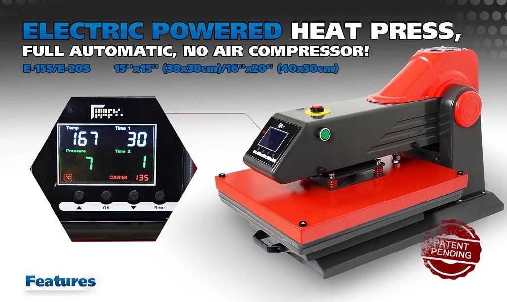 專利全自動電動熱轉印機