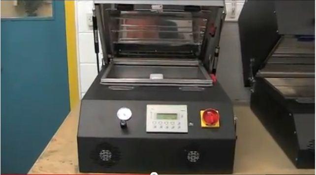 3d真空熱轉印系統設備