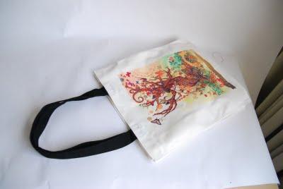 熱轉印帆布袋 手提購物袋